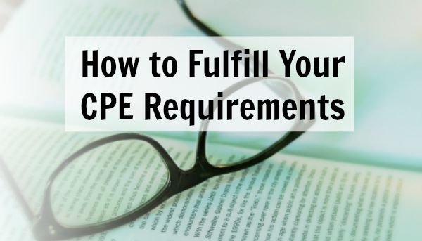 Know Your CPE Hours Requirements